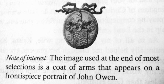 John Owen Coat of Arms